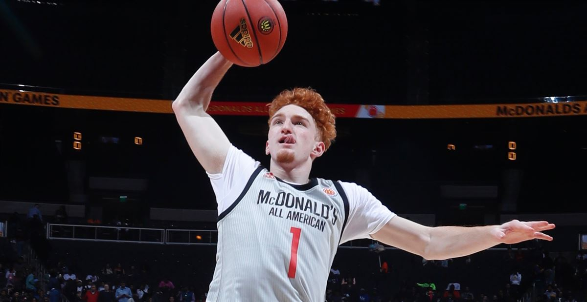 brand new c4440 35557 Highlights: Nico Mannion at McDonald's All-American Game