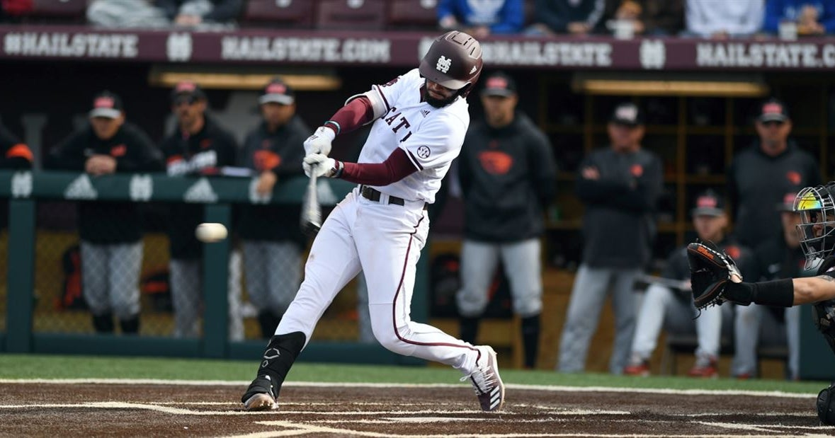 GALLERY: No. 10 Mississippi State Defeats Oregon State 7-4