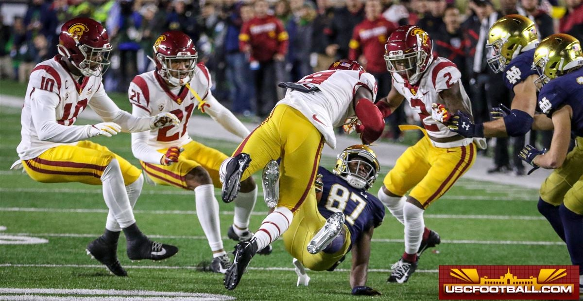 PHOTOS: USC defense can't get final stop in loss at Notre Dame