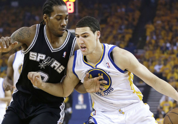 a19a85880702 Report  Lakers prefer Klay Thompson over Kawhi Leonard