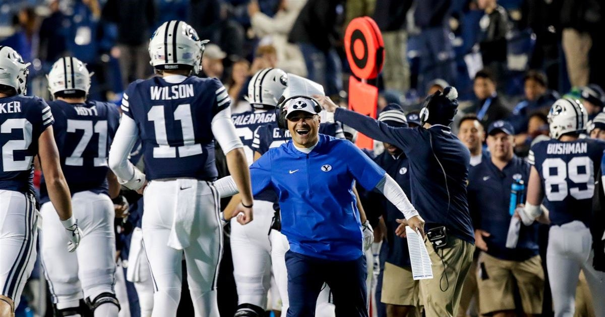 Behind-the-scenes highlights from BYU's win over Hawaii