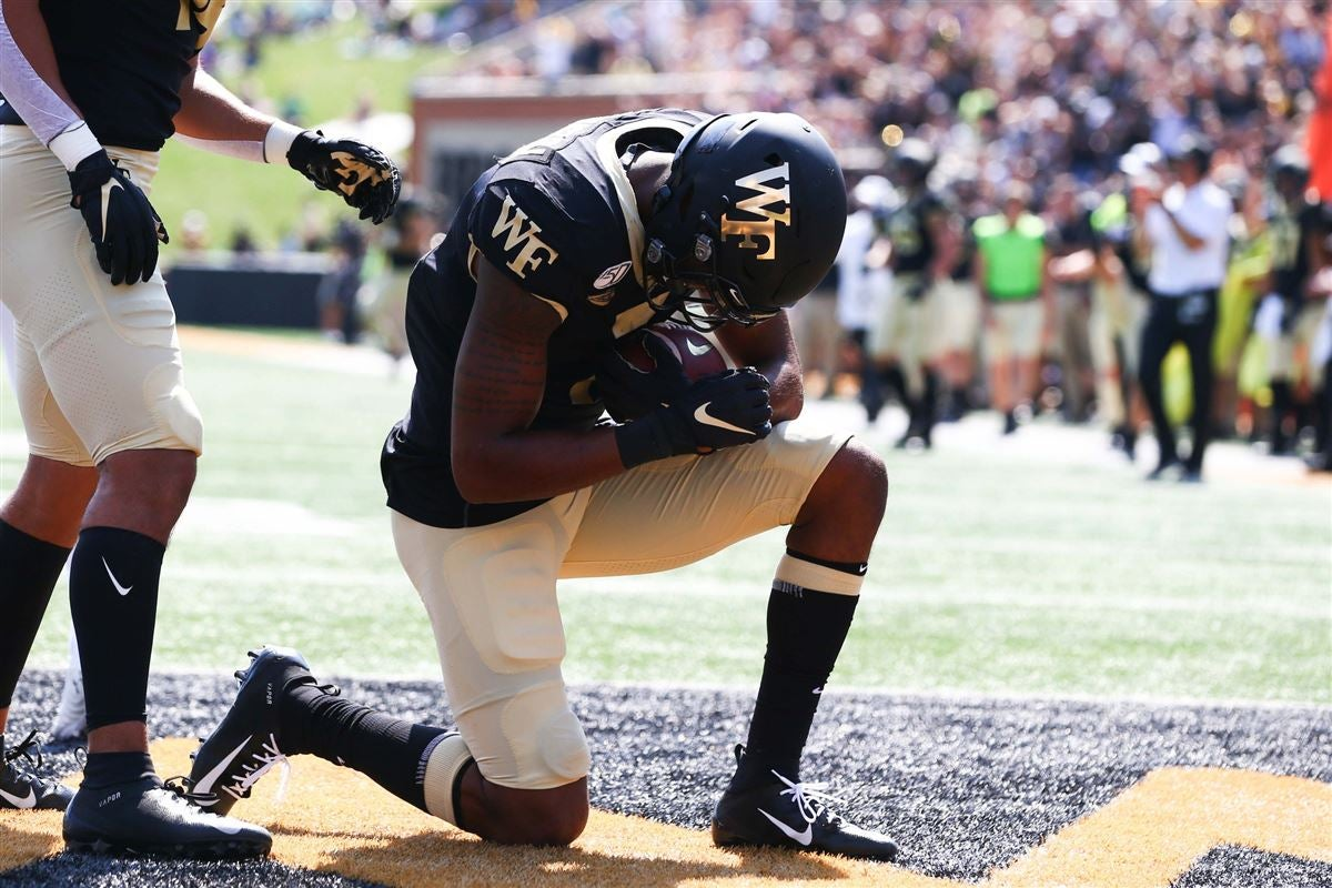 Washington delivers career high in 49-7 Wake win over Elon