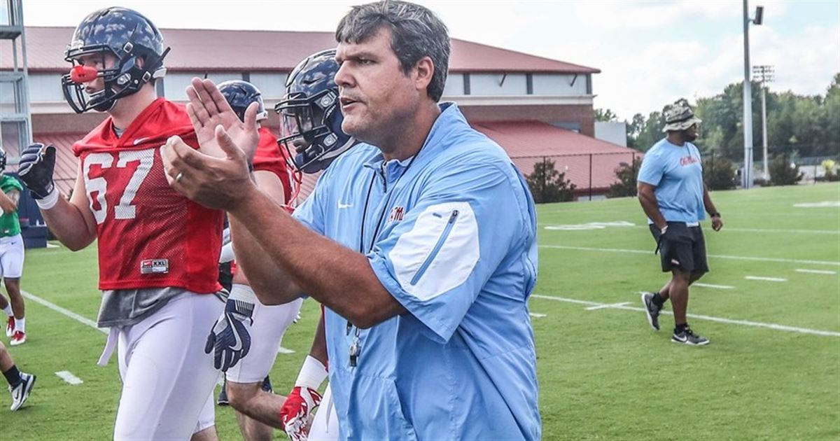 Ole Miss Football head Coach Matt Luke Pleased With Physicality Shown By Rebels