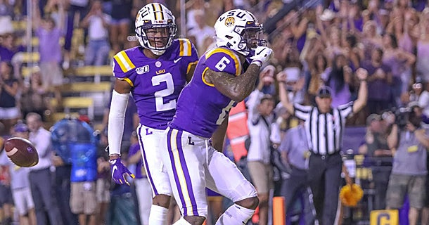 ESPN FPI updates LSU's 2019 wins and losses after Week 3 win