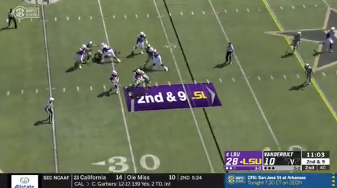 WATCH: Adrian Magee's double-pancake on one play