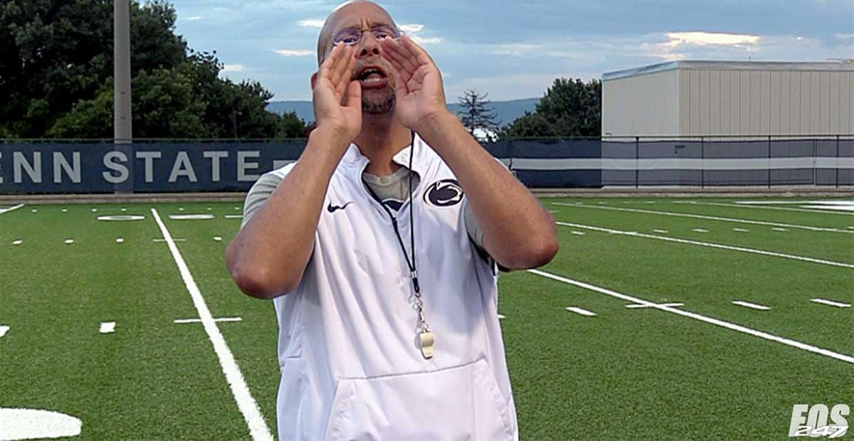 James Franklin lays into players for walking off practice field