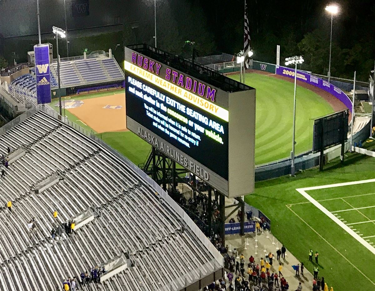 Cal-UW Game Delayed Due to 'Extreme Weather Advisory'