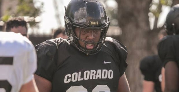 Colorado Nose Tackle Javier Edwards Has Lost More Than 60 Pounds