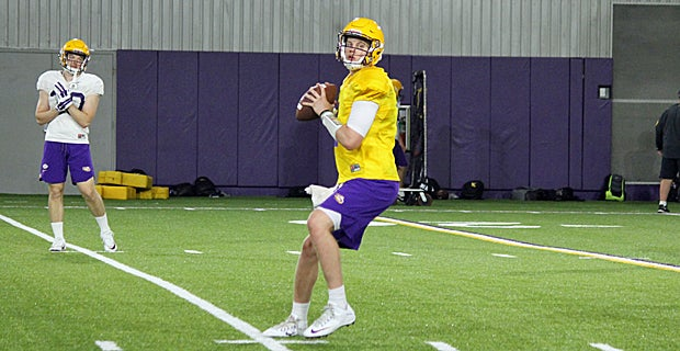 Orgeron opens up on the new-look QB room