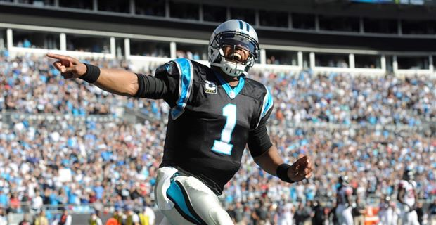 f23dae12d Carolina cleaning up in PFWA awards  Cam Newton named MVP