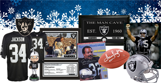 Oakland raiders holiday gift guide for What to get the man who has everything for christmas
