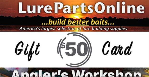 Lure Parts Online/Angler's Workshop Giveaway Winners