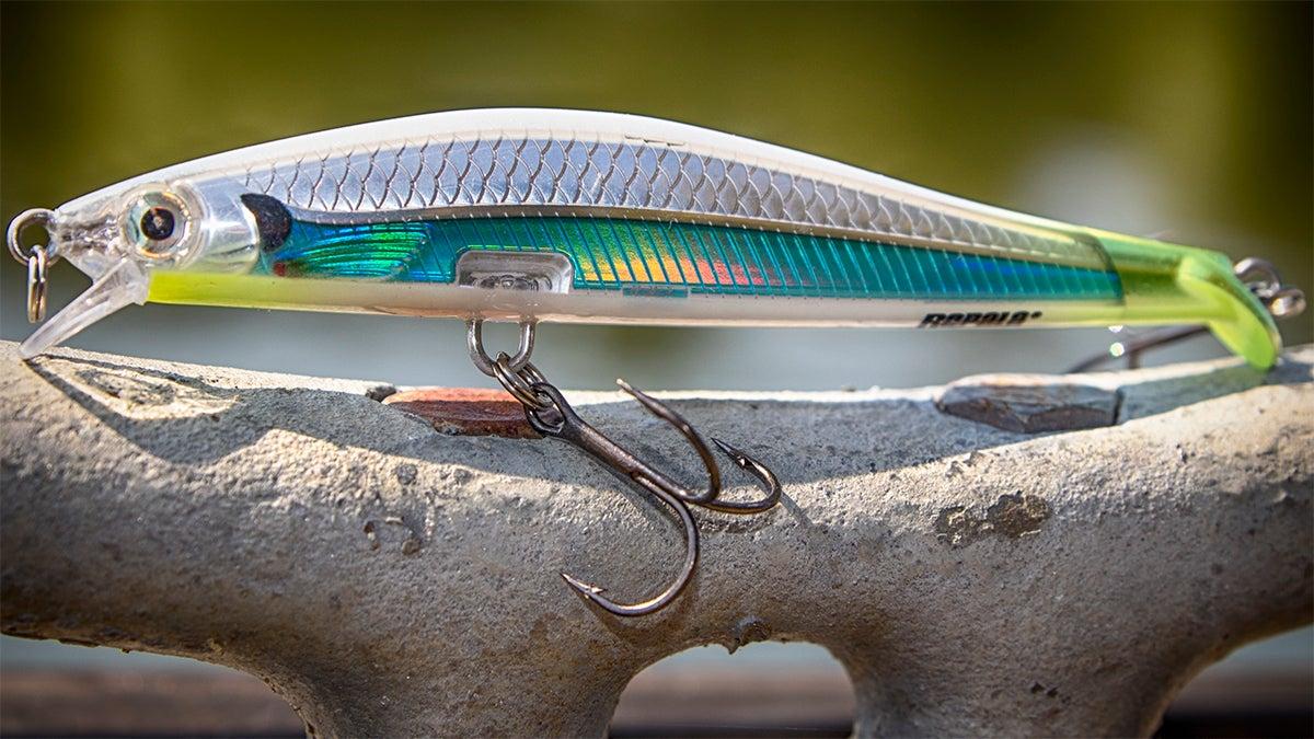 Rapala ripstop jerkbait review for Rapala tournament fishing