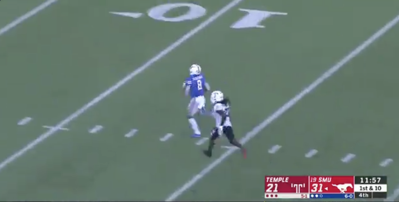 WATCH: Reggie Roberson adds to incredible day with 60-yard TD