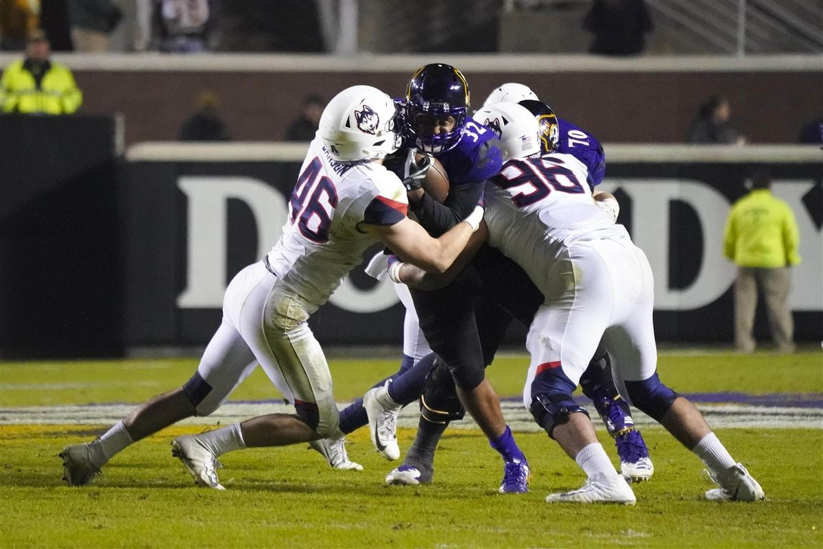 Opening line released for ECU's road bout with UConn