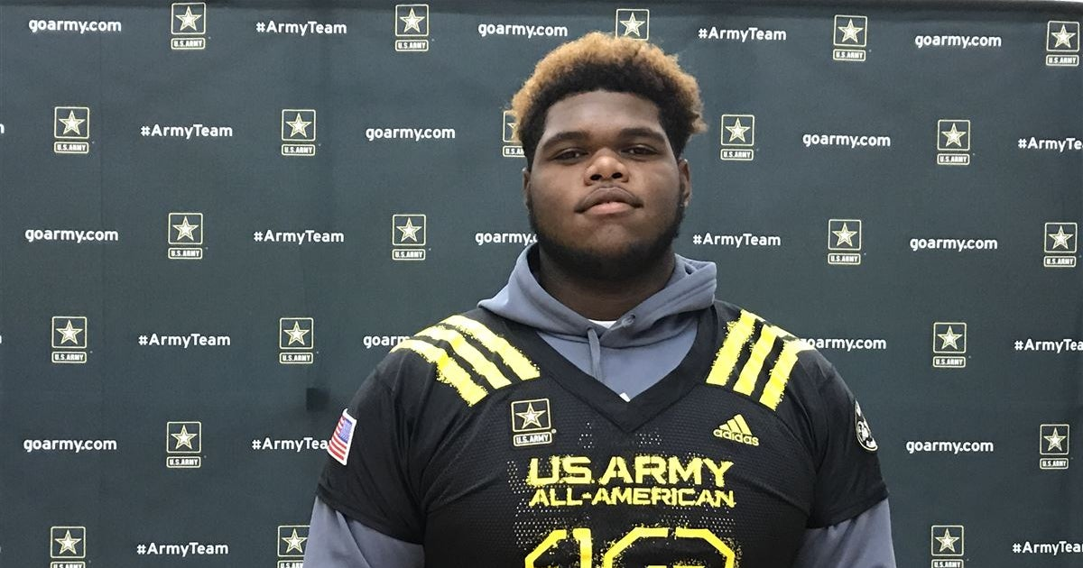 Clemson commit Josh Belk recognized as a U.S. Army All ...