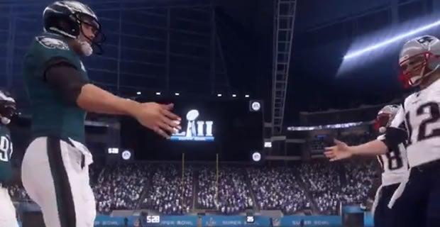 d11d9eec Madden NFL 18 predicts Super Bowl LII