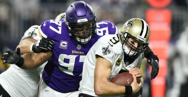 f34c5df91 Vikings defensive line ranked fourth in NFL for 2018