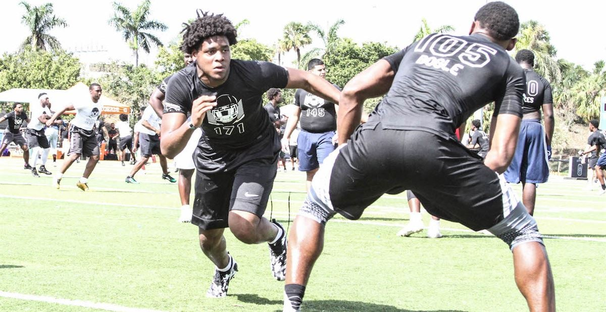Big Ten School Pushing For Miami DE Commit Williams
