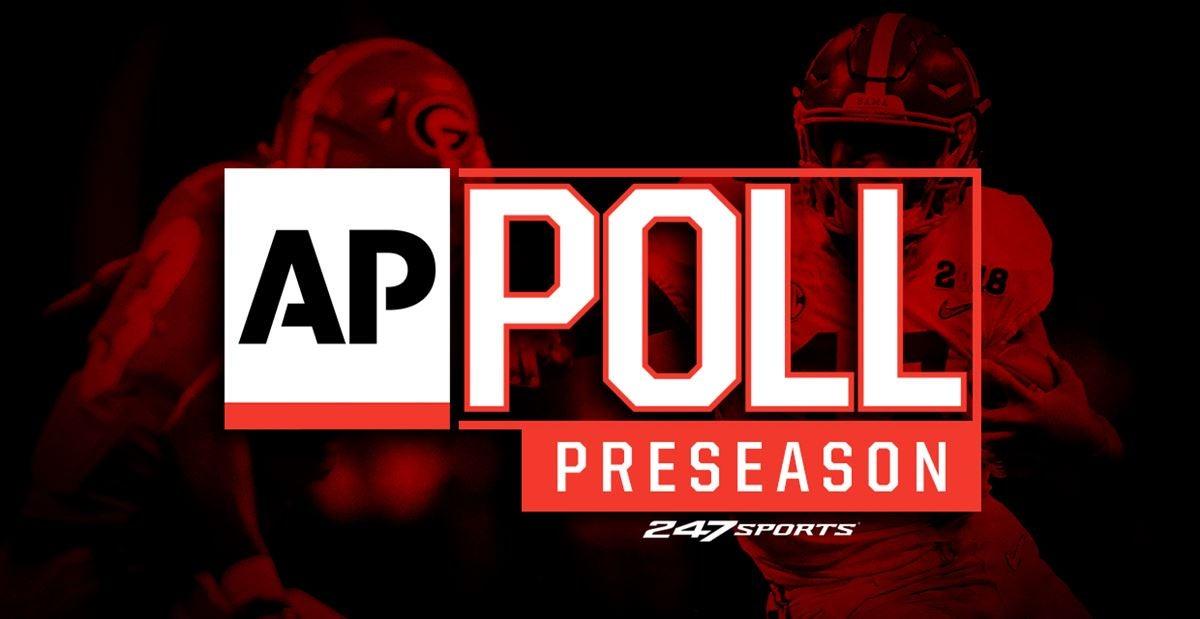AP Top 25 preseason poll released for 2018 season