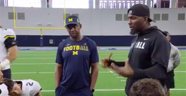 Watch Dez Bryant Speaks To Michigan Wolverines