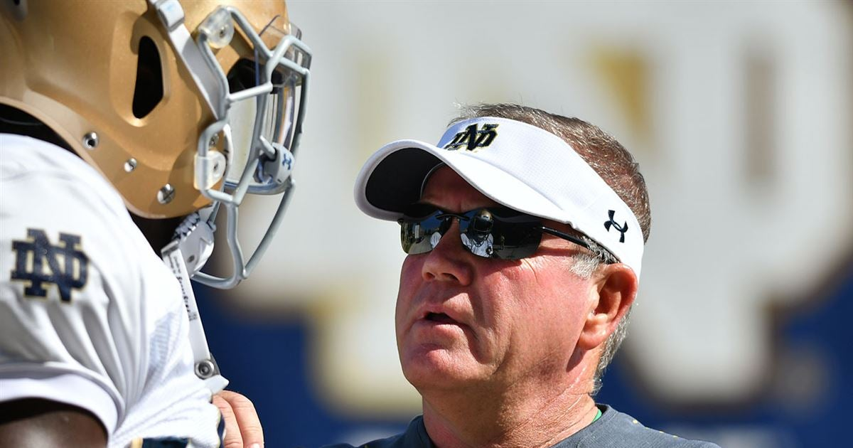 Here's what Notre Dame's Brian Kelly said after practice No. 6