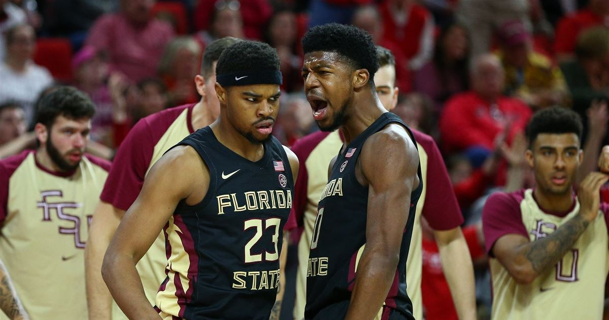 Lunardi's latest offseason bracketology has FSU as a No. 5 seed