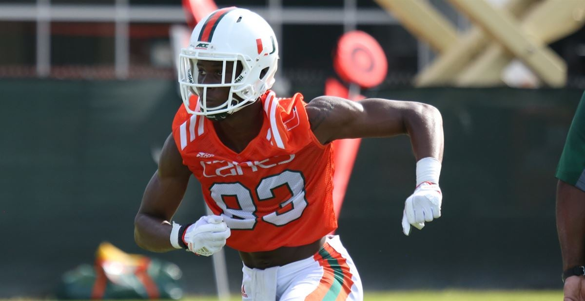 WR Njoku Healthy and Excited To Show What He Can Do