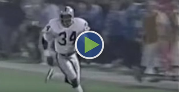 Tbt Bo Jackson Barry Sanders Go Off In 1990 Raiders Lions Game