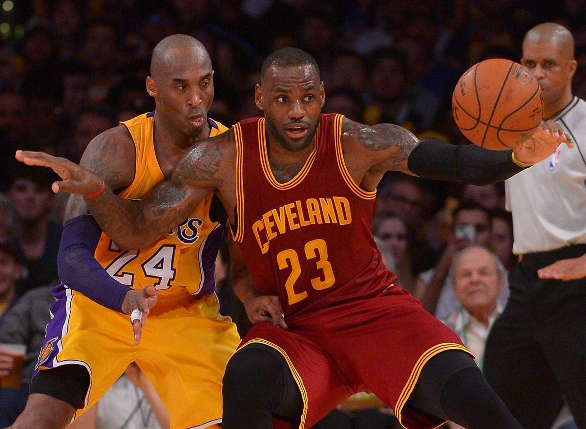 f921b157e639 Kobe Bryant weighs in on LeBron James  legacy