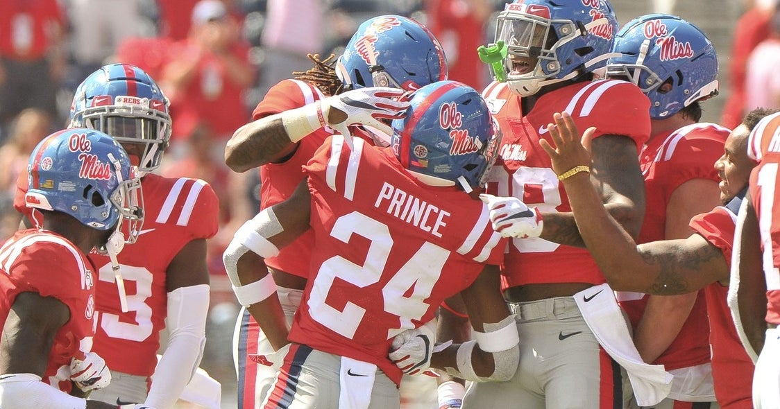 Ole Miss DB Deantre Prince has entered the NCAA transfer portal