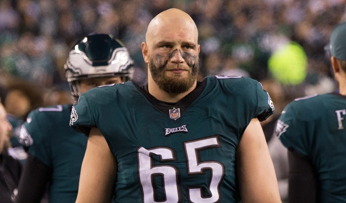 Lane Johnson has another message for Patriots fans