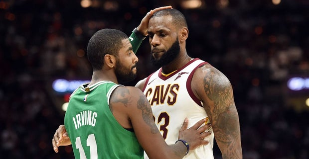 4cb1bdbff23 LeBron James discusses his relationship with Kyrie Irving
