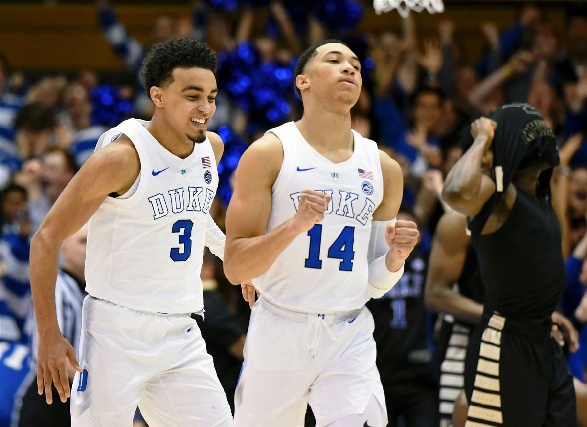 Quotes Coach K Says Duke Was Fortunate To Beat Wake Forest