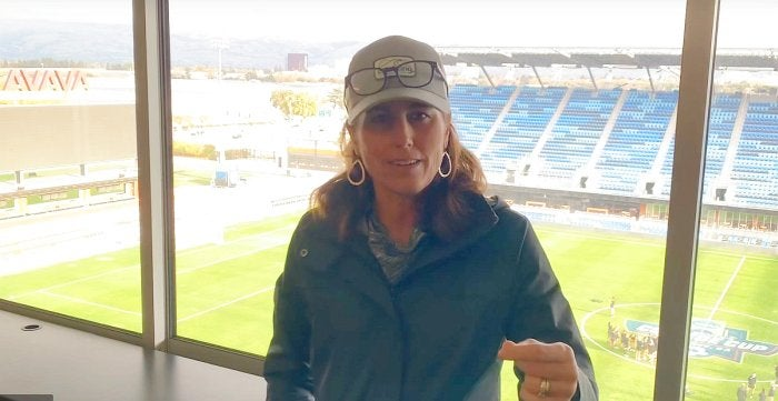 Soccer royalty Julie Foudy says WSU has a different energy