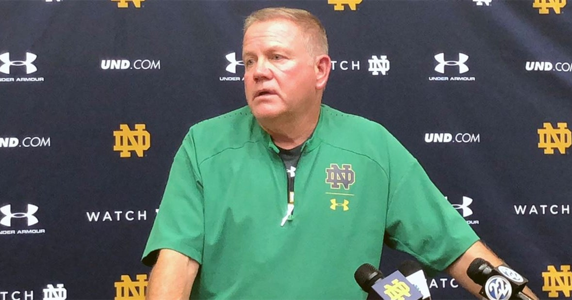 Live Updates: Brian Kelly talks ahead of Notre Dame-Ball State