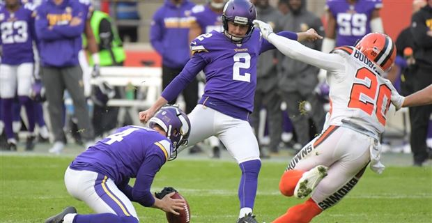 new concept 541ea 3cf3d Kai Forbath on hot seat after Daniel Carlson selection