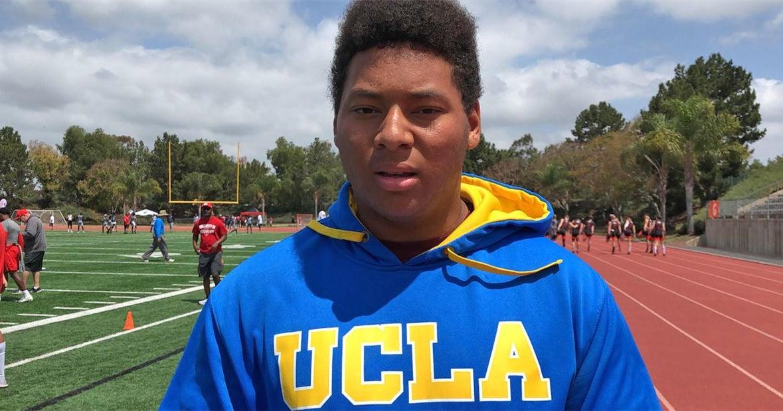 UCLA Re-Offers 4-Star Mater Dei Offensive Lineman