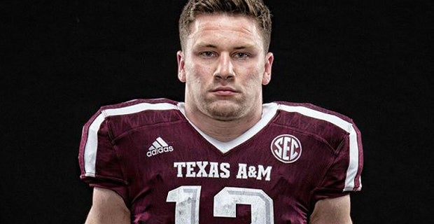 newest 3a927 f9f46 Texas A&M LB Braden White named the new 12th Man