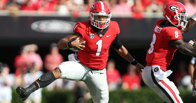 Justin Fields and Jake Fromm: Hot takes on Georgia QB ...