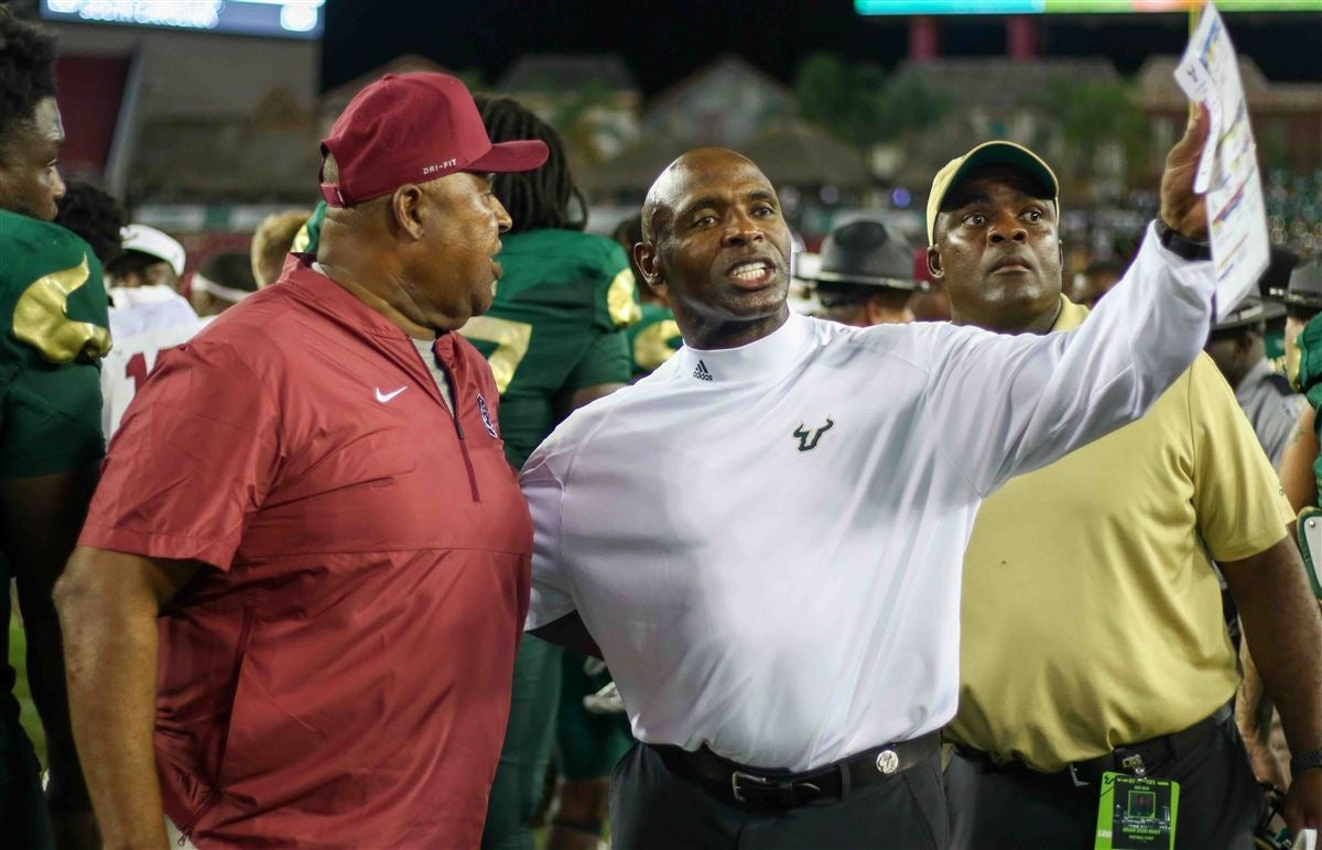WATCH: Charlie Strong's press conference after SC State