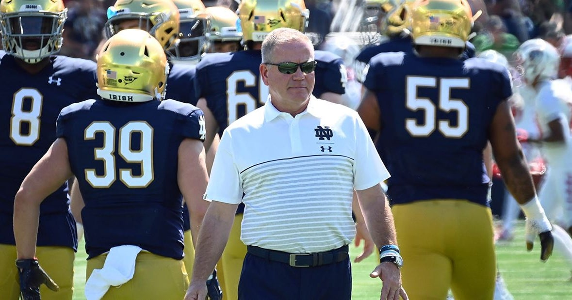 Kelly on his 2020 Notre Dame team: A really good football team