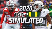 Simulating 20 best games of 2020 (Ohio State at Oregon)