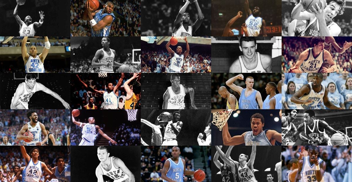 big sale 62200 155aa UNC Basketball s Top 100 Players