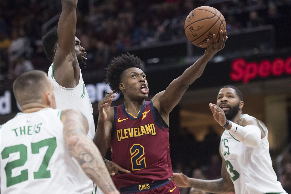 new concept c485a d13b5 Collin Sexton isn't nervous about his first NBA game
