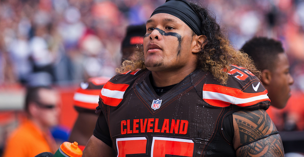 Danny Shelton reacts to not getting No. 55 on the Patriots