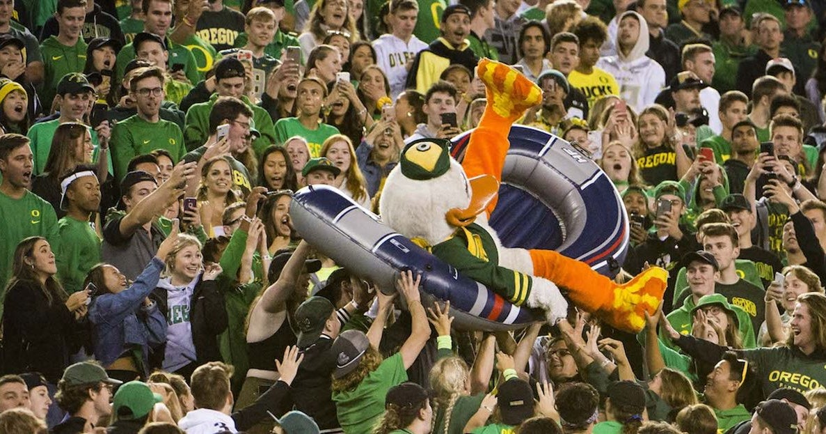 Oregon Ducks College Football, College Basketball and Recruiting on 247Sports cover image