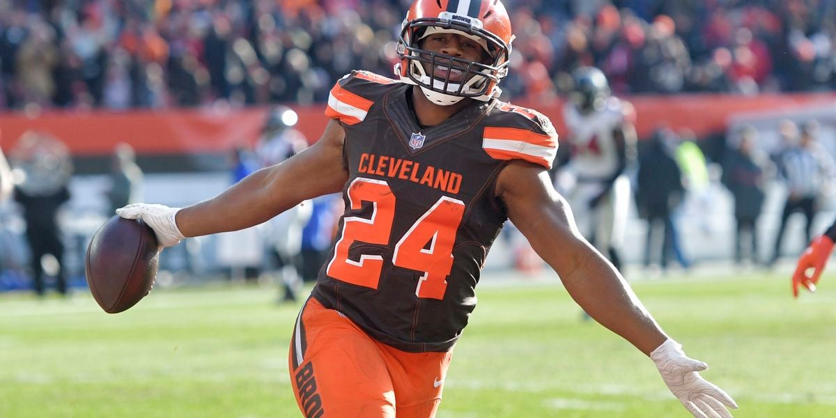 Image result for nick chubb