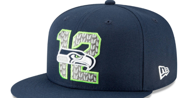 351bf2392ad3a1 Seattle Seahawks 2019 NFL Draft hat revealed