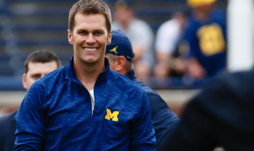 Tom Brady trolled Michigan's loss on LeBron's Instagram photo
